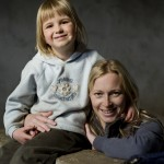 Majitelka Lucie s dcerou